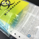 Sacchetto stampato su ordinazione di trasporto dell'esemplare di Ht-0735 Biohazard