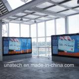 Al aire libre de interior de los / caja de aluminio LED Publicidad
