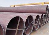 Tubo de acero API 5L Psl2 X52QS, línea tubo, tubo de acero de LSAW de OCTG del gas del diámetro 813m m