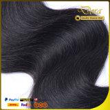 O vison natural por atacado do Weave do cabelo humano empacota o cabelo do brasileiro do Virgin da cutícula