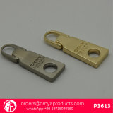 P4916 Ck Style Brush Gunmetal Puller Slider Zipper Metal