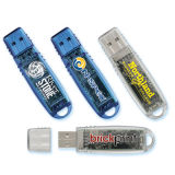 Disco instantâneo do USB do USB 2GB do giro, feito do plástico, serviço do Pre-Load dos dados