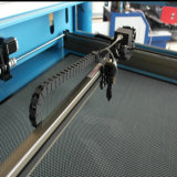 laser 3D gravant la machine de découpage principale de laser de CO2 du pouvoir deux