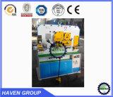 Máquina hidráulica de /Cutting do Ironworker/máquina /Combined da indústria siderúrgica que corta & máquina de perfuração com funções múltiplas