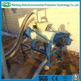 Separador líquido contínuo maduro de secagem do animal de cultivo da máquina/aves domésticas do estrume da vaca
