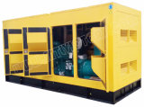 jogo de gerador 688kVA Diesel silencioso super com motor P222le-II de Doosan com aprovações de Ce/Soncap/CIQ