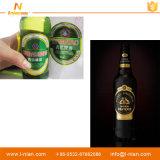 La costumbre de impresión de papel autoadhesivo Etiqueta de la cerveza