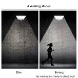 Wand-Leuchter, die Pole-im Freien Bewegungs-Fühler-Solarrinne-Lichter einhängen
