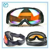 紫外線400の保護Anti-Fogスポーツガラスのスキーゴーグル