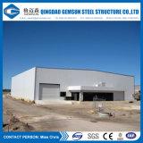Edificio de marco de acero galvanizado H-Sección