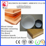 Pegamento blanco del látex usado para la madera