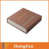 Коробка подарка бумаги упаковки логоса высокого качества горячая штемпелюя
