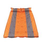 De vochtbestendige zelf-Opblaast Mat die van de Tent het Kamperen van de Tent Mat 18 Piont +Pillow vouwt