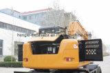 Excavador rodado con el compartimiento 0.34m3 10 toneladas
