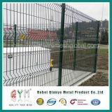 Покрынная Qym-PVC загородка сваренной сетки