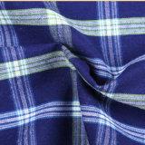 ワイシャツのための100%年の綿の糸の染められた小切手ファブリック
