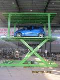De hydraulische AutoLift van de Schaar voor het Parkeren van de Kelderverdieping