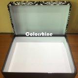 Boîte-cadeau de papier cosmétique d'emballage de qualité avec le flocage