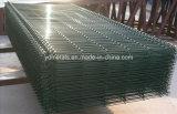 ISOのPVCによって塗られる溶接された金網の塀