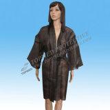 Robe longue non tissée jetable de kimono
