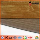 Comitato composito di alluminio di sembrare del legno di prezzi di fornitore (ACP) - Indoor&Outdoor