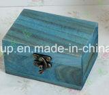 Коробка подарка раковины MDF отделки верхнего сегмента стеклянная