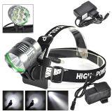 4PCS LED 크리 사람 U2 1500lm/800m 재충전용 LED 맨 위 램프