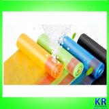 Sacs d'ordures de HDPE avec Drawtape
