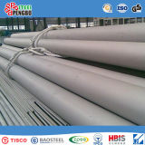 Pipe d'acier inoxydable de SUS304 304L 316 avec le certificat d'OIN