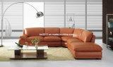 Wohnzimmer-echtes Leder-Sofa (SBO-3920)