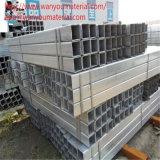 Гальванизированные ERW труба и пробки прямоугольника стальная для конструкции