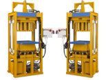 Bloco manual da cavidade do Paver C25 que faz a maquinaria
