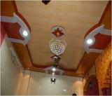 GV médio do painel de parede ISO9001 do teto do PVC do sulco da cor de madeira