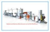 Ligne électrique et électronique d'extrusion de Cable&Wires (machine d'extrudeuse)