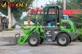 Carregador poderoso de 908 rodas com o conversor de torque hidráulico