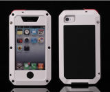 Baisse-Proof Shockproof Aluminum Metal Cas Lunatiking Taktiking Phone Cover Cas de Highquality Extreme Waterproof de 1:1 de Product d'usine pour l'iPhone 4S 5s 5c 6