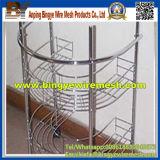 Traitement profond de treillis métallique pour la crémaillère d'éprouvette