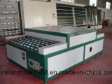 Chaîne de production en verre isolante d'entretoise chaude horizontale de bord