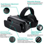 2016년 Google Cardboard Vr Box 2.0 Version 2 Vr Virtual Reality Glasses+Smart Bluetooth Wireless Mouse 또는 Remote Control
