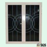 Gute Qualitätsaluminiumtür, Flügelfenster-Tür, Fenster, Aluminiumfenster K06002