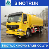 6X4 Sinotruk 20cbm Afmetingen van de Vrachtwagen van de Tanker van de Brandstof