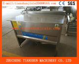 Un pollo industriale elettrico dei tre serbatoi scheggia la macchina Zyd-1500 della friggitrice