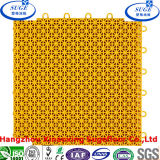 Multi Functional Yellow Modular Interlocking Sports Court Floor