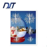 Fiocchi di neve di simulazione della decorazione di scena di natale dei fiocchi di neve dell'albero di Natale