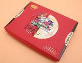 Caja de presentación del cartón del embalaje del color del rectángulo de regalo del papel acanalado para la colección de los productos (D23)