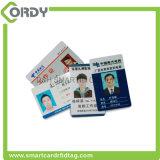 자기 띠를 가진 증쇄된 125kHz EM4100 학생 사진이 부착된 신분증 카드