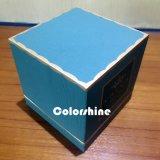Коробка подарка упаковки бумаги свечки высокого качества голубая