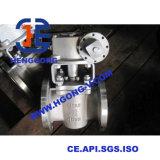 Válvula de plugue da flange do aço de molde da engrenagem de sem-fim de API/DIN/JIS
