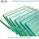 het 4mm Aangemaakte Duidelijke Glas van de Vlotter voor de Deur van de Douche met Certificaat Ce&CCC&ISO