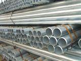 BS1387 ASTM A53 GR. Tubulação de aço galvanizada mergulhada quente de B